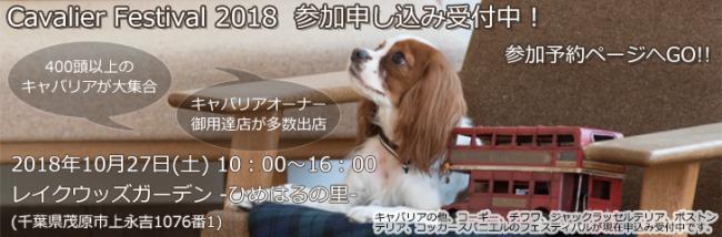 キャバリアフェスティバル2018参加申し込み受付中